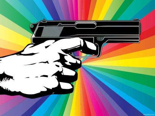 guns gays