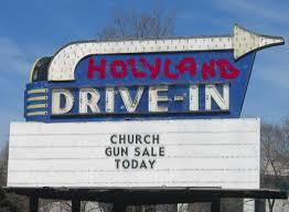 guns and church